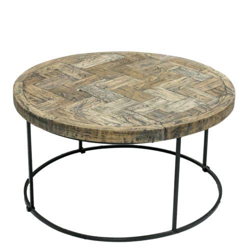 Coffe Table Iron Legs Round Diameter 70 Cm  AIF-003