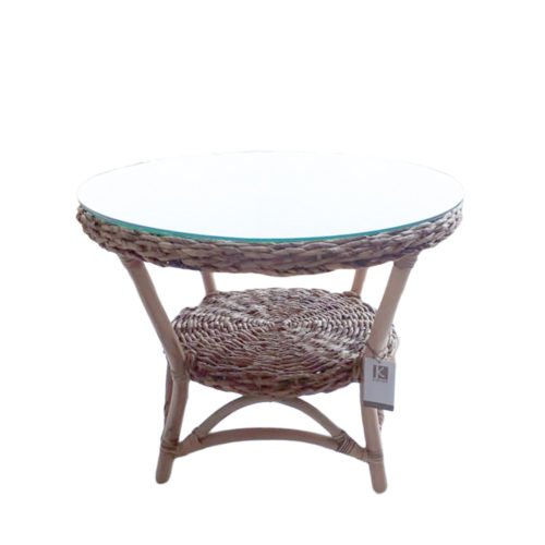 Only  Table Banana Natural With Glass  DPI-010