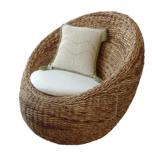 Moon Chair With Cushion Ecrue  DPI-011
