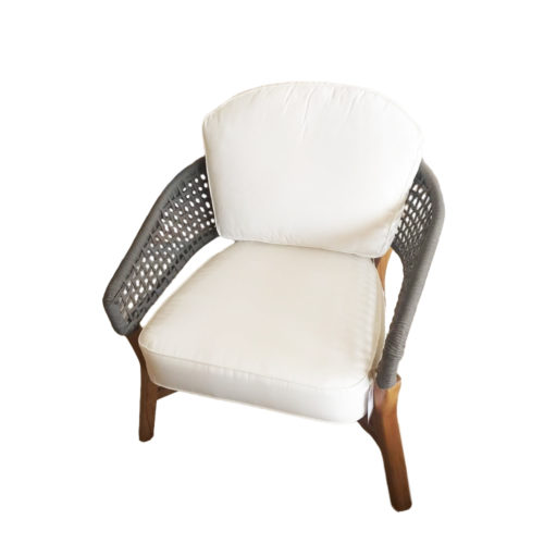 Monaliza Indoor Teak Wood With Cushion Ia 03  DPI-016
