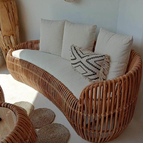 Bean Bench With Cushions  HOF-013