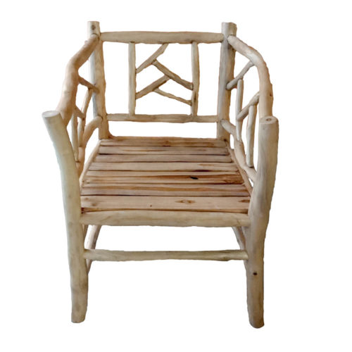 Living Chair With Wood  PGI-006