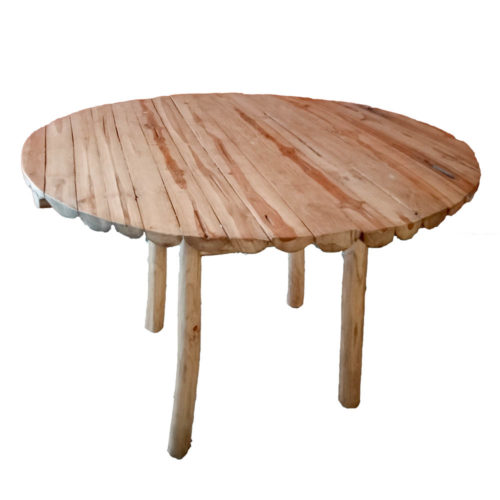 Dining Table Round With Straight Legs  PGI-010