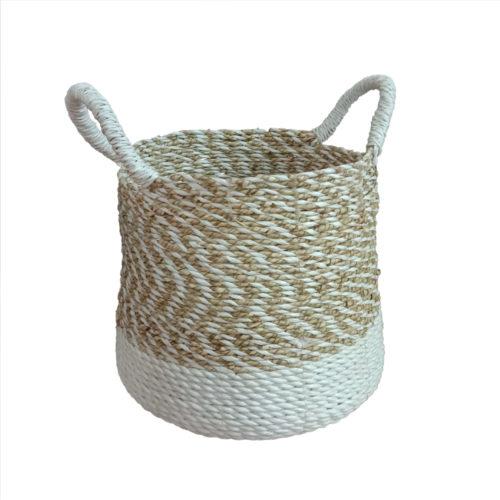 Seagrass Round Basket S  PSI-001