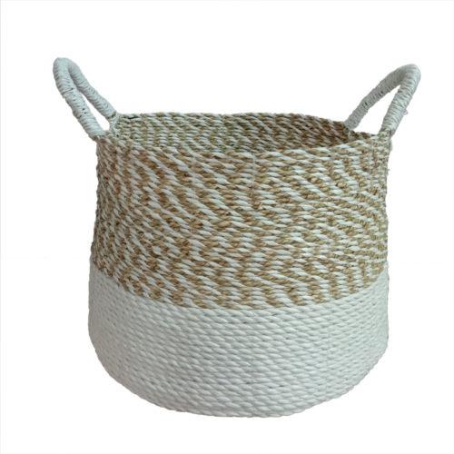 Seagrass Round Basket M  PSI-002