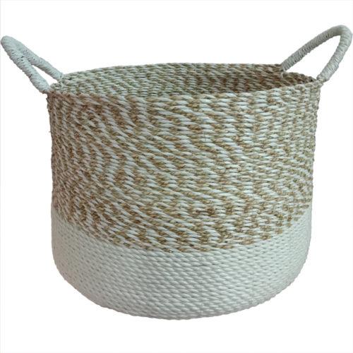 Seagrass Round Basket L  PSI-003
