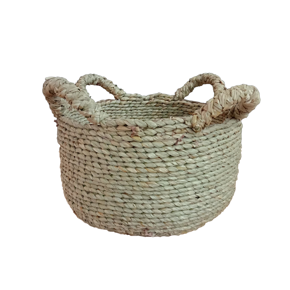 - Seagrass Round Basket Xs PSI-004 – Kabann Living