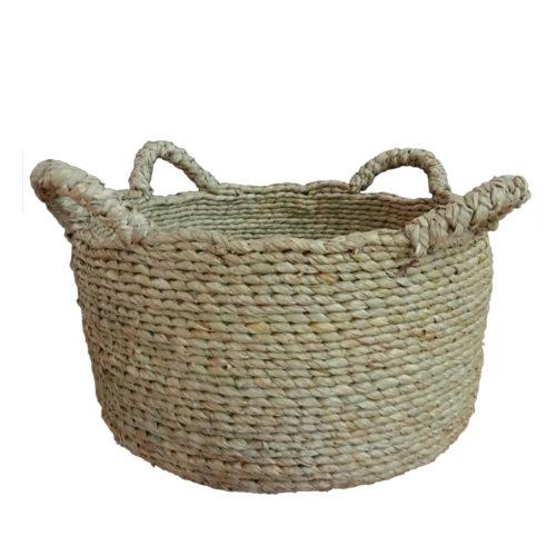 Seagrass Round Basket M  PSI-006