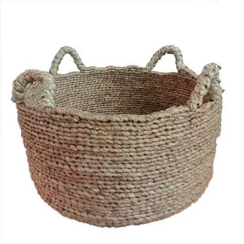 Seagrass Round Basket L  PSI-007
