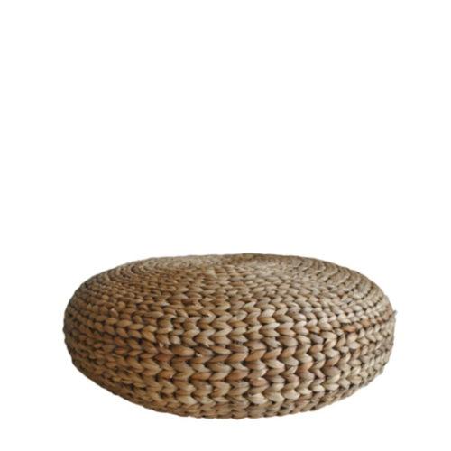 Waterhyacinth Round Cushion  TAP-017