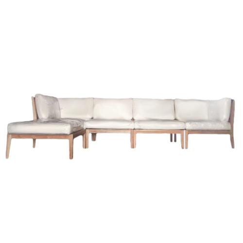 Sofa Teak Weaving Set MSO-011
