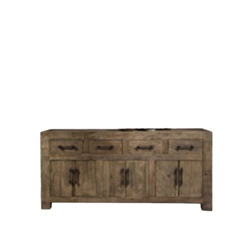 Andreas dresser 4drawers and 3 double doors  RCK-015