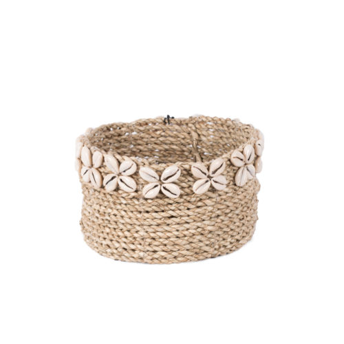 Round Seagrass Basket (S)  MSP-009