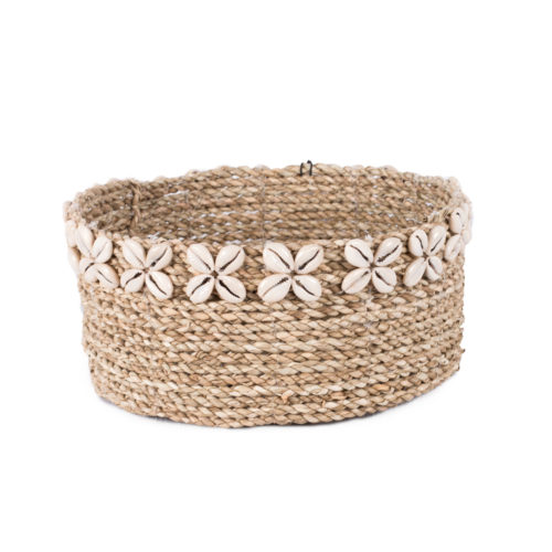 Round Seagrass Basket (M)  MSP-010