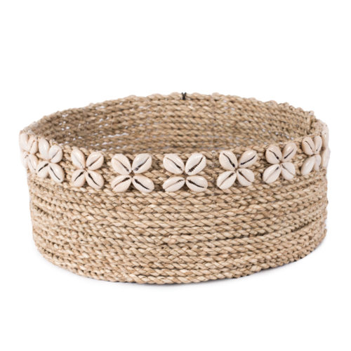 Round Seagrass Basket (L)  MSP-011